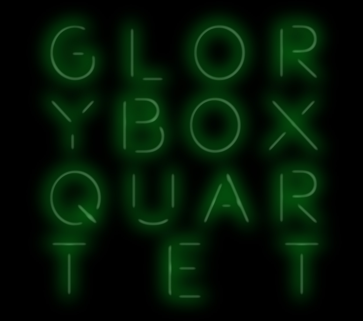 Logo Glory Box Quartet